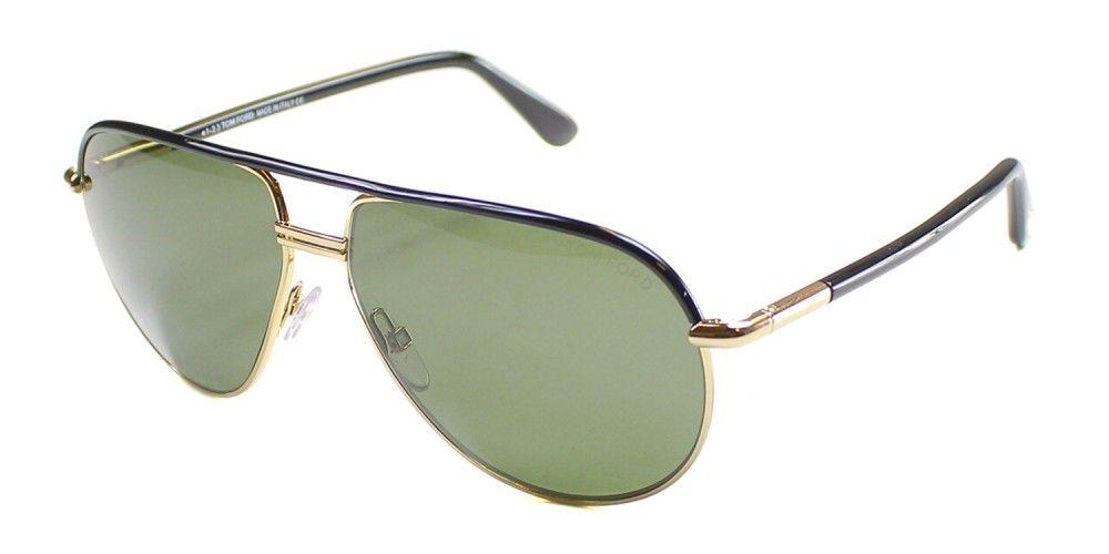a78953e711 Tom Ford Cole TF285 01J Unisex Green Polarized Sunglasses (59-13-135 ...