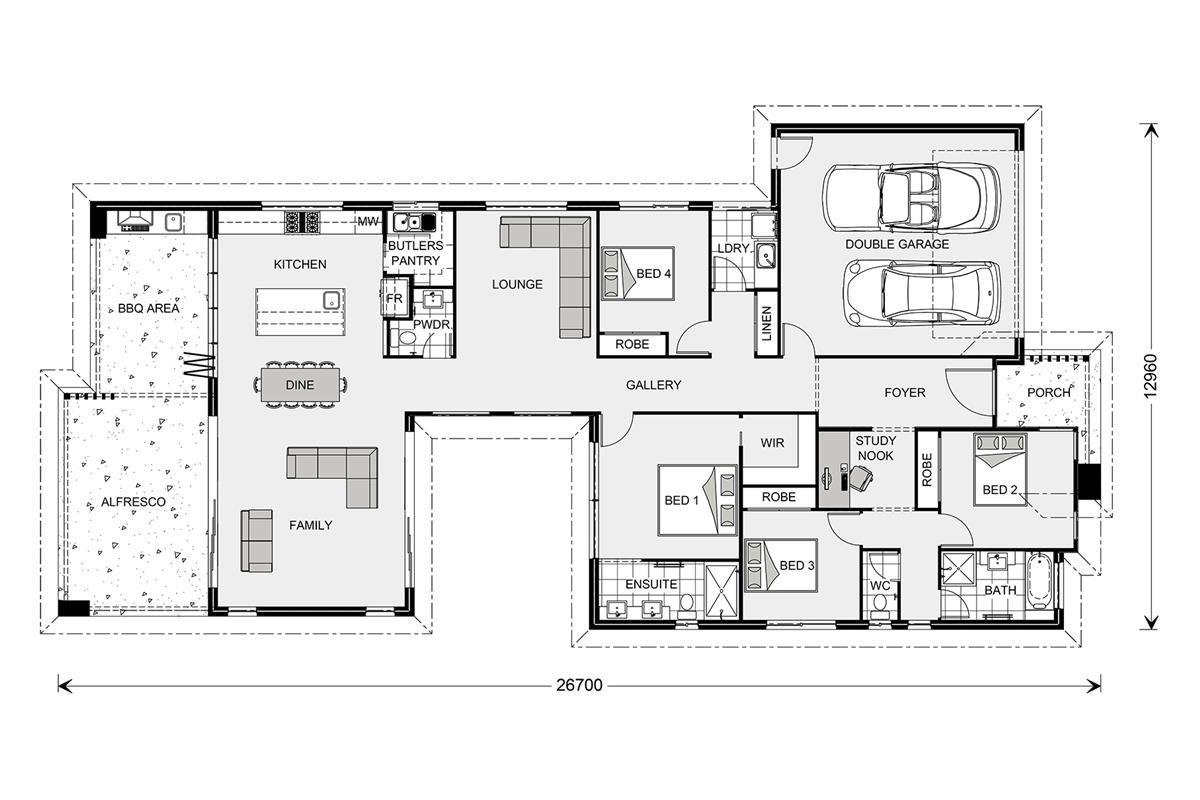 Stillwater 300 - Element, Our Designs, Cairns Builder, GJ Gardner ...