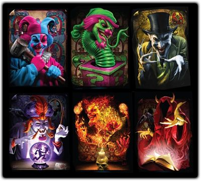 The Wraith Joker Card