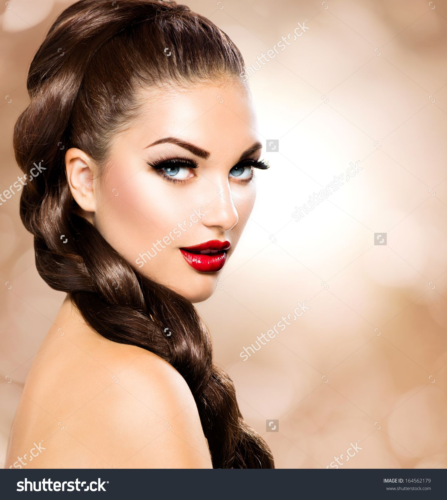 stock-photo-hair-braid-beautiful-woman-with-healthy-long-brown