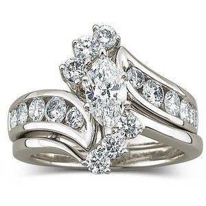 1 2 Ct Marquise Cut Bridal Set 42 Off Recycled Bride