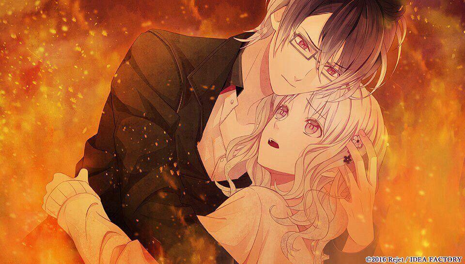 Diabolik Lovers - Lost Eden】︎︎Reiji and Yui CG That's