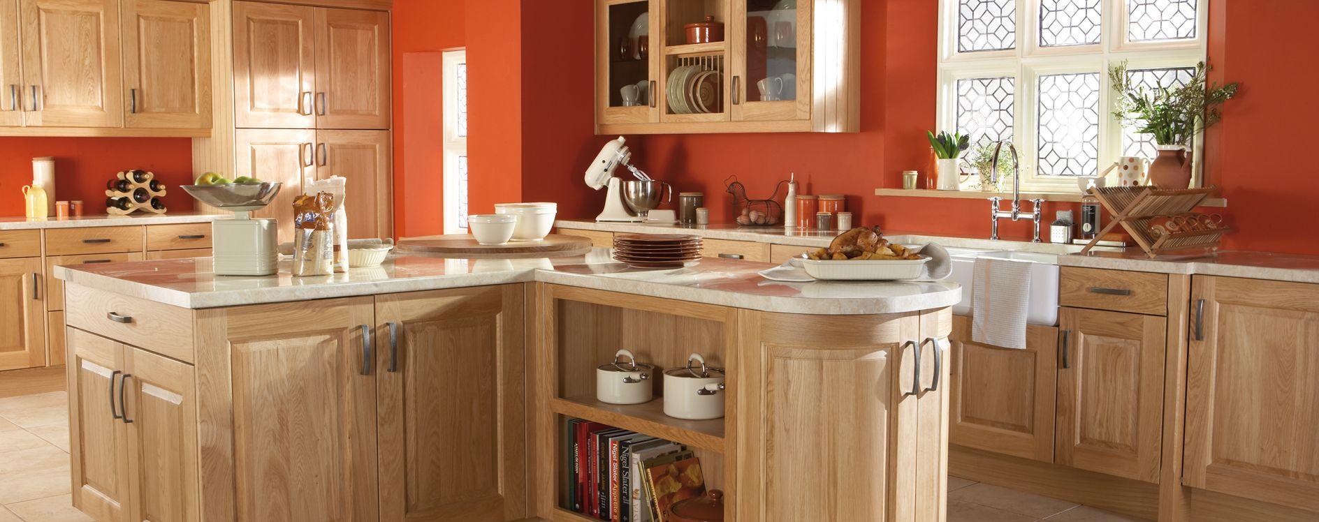 Classic Solid Oak Kitchen Design And Nonstandard Door Sizes New Standard Kitchen Design Inspiration Design