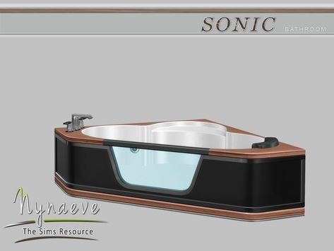 Photo of Sonic Bathroom – Bathtub  Found in TSR Category 'Sims 4 Showers & Tubs'