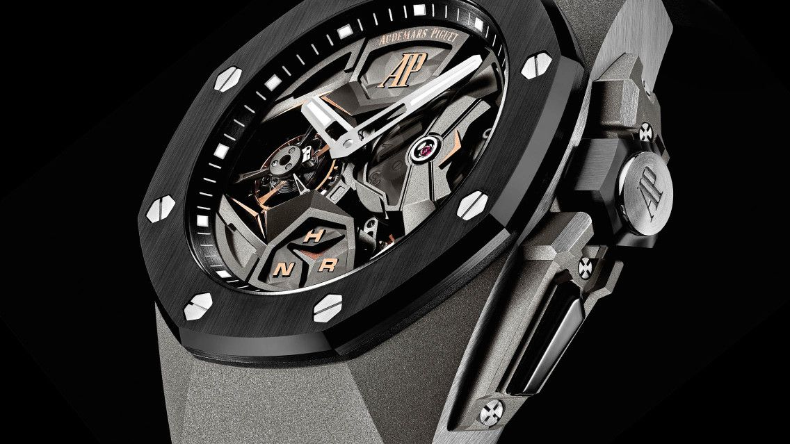 La Royal Oak Concept Tourbillon Volant Gmt Derniere Nee De La