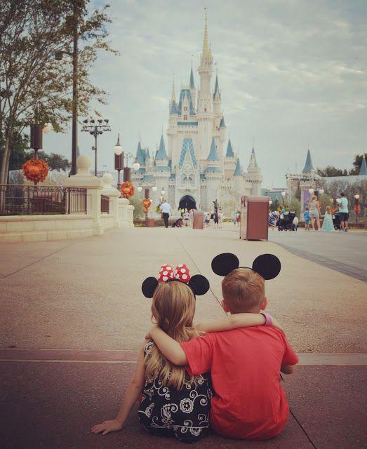 Elsa and Anna Morning at Magic Kingdom