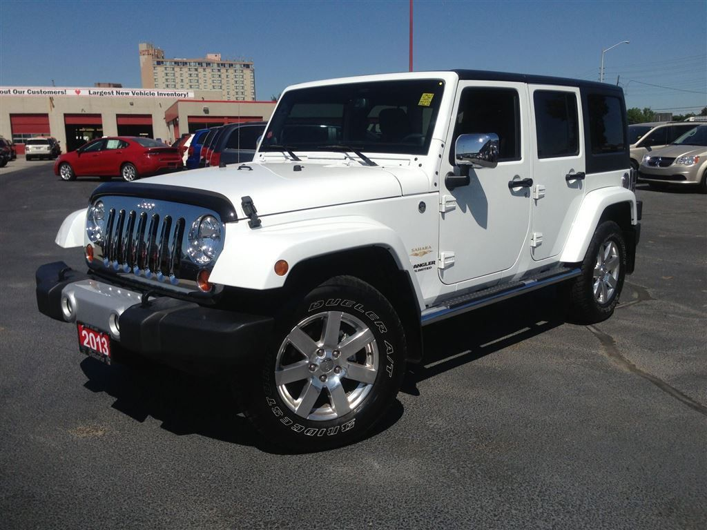 Used 2013 Jeep Wrangler Unlimited Sahara Unltd Lthr Nav In
