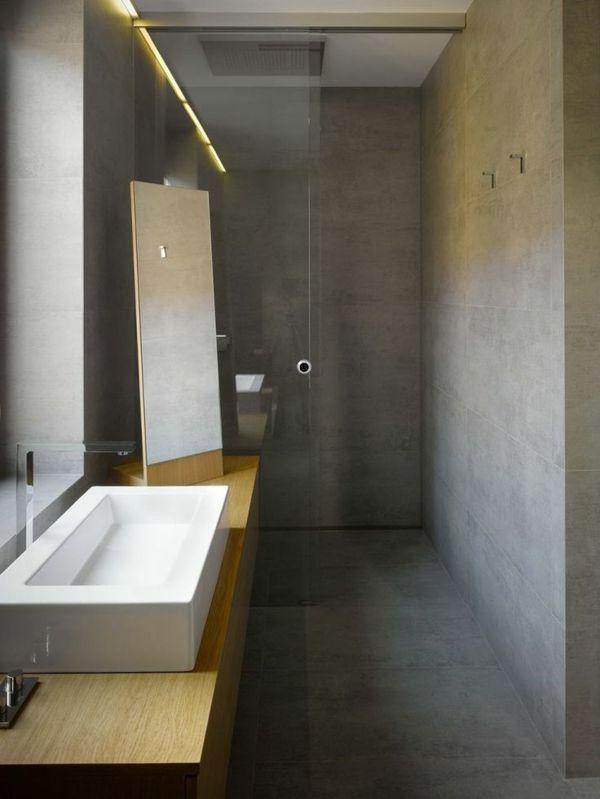 moderne led beleuchtung im coolen badezimmer home Pinterest - led beleuchtung badezimmer