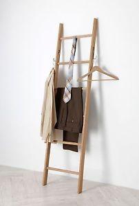 kleiderleiter eiche aus dem odenwald handtuchleiter stummer diener new living. Black Bedroom Furniture Sets. Home Design Ideas