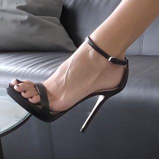 Suffer under heels femdom