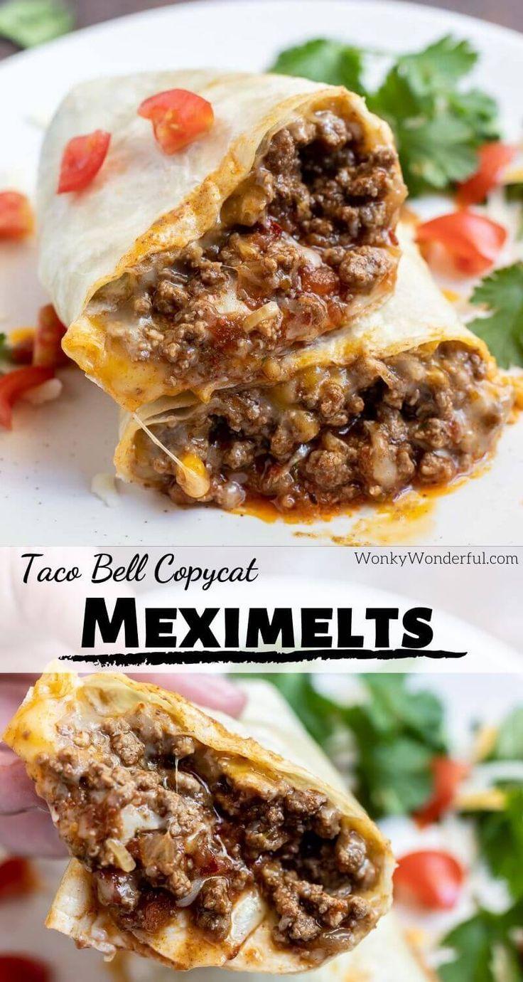BEEF MEXIMELT RECIPE (Taco Bell Copycat) + WonkyWonderful