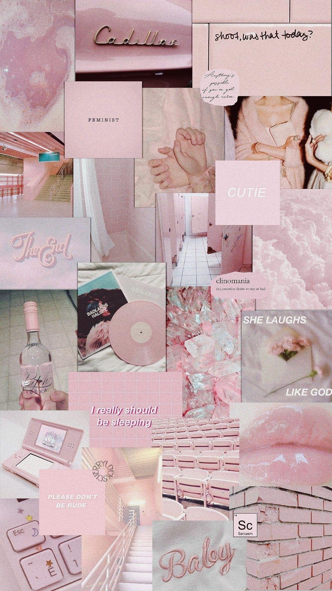 Lockscreen Pink Pastel Aesthetic Pink Wallpaper Iphone Aesthetic Iphone Wallpaper Pastel Aesthetic