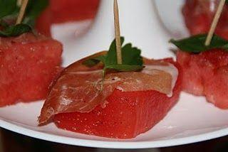 watermelon & prosciutto di Parma