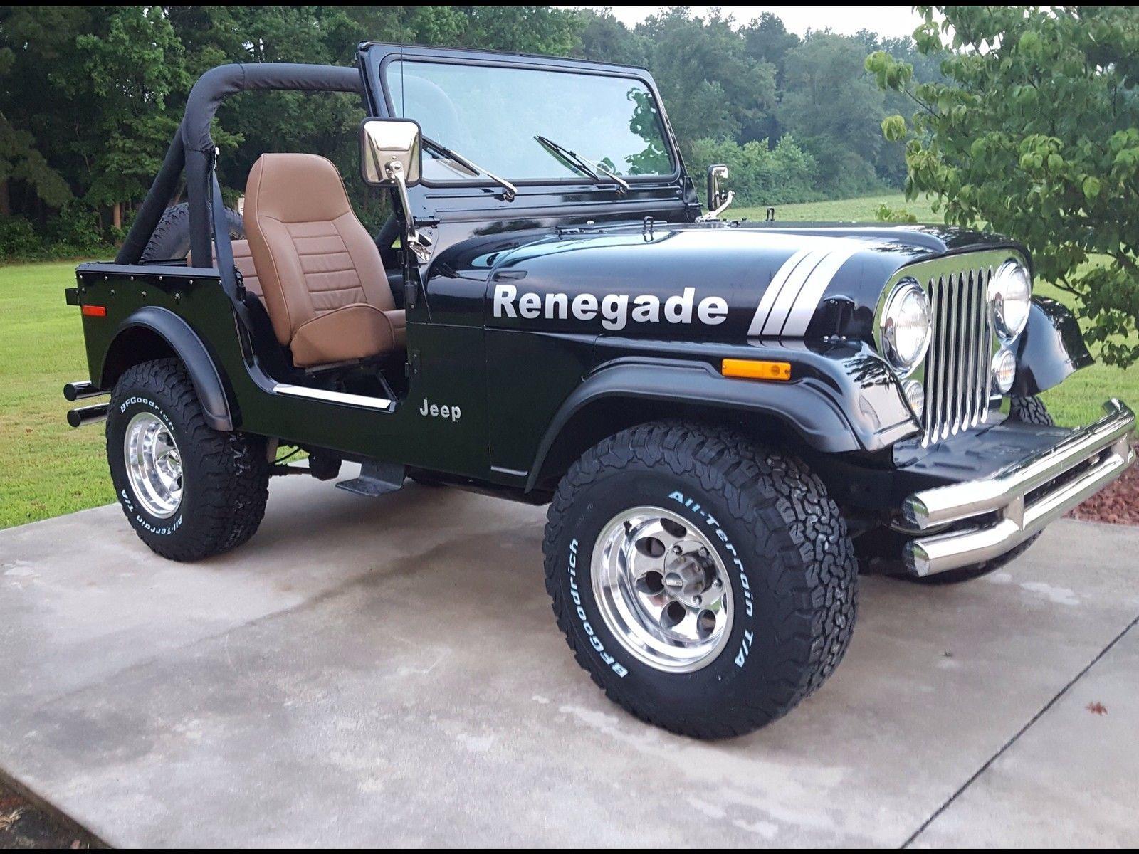 Jeep cj7 renegade sport utility 2 door in v hicules pi ces automobiles