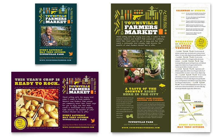 Pin by Pasture Builders on Farmers Market Flyers ...