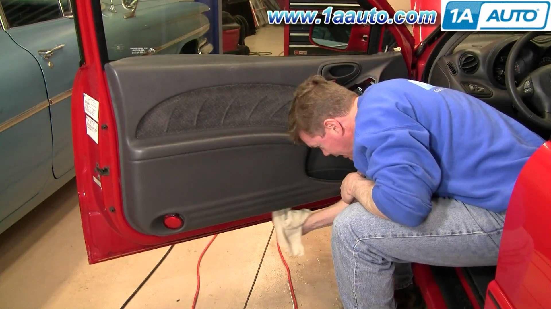 How To Install Replace Door Panel Pontiac Grand Am 99 06 1aauto Com Panel Doors Pontiac Grand Am Paneling