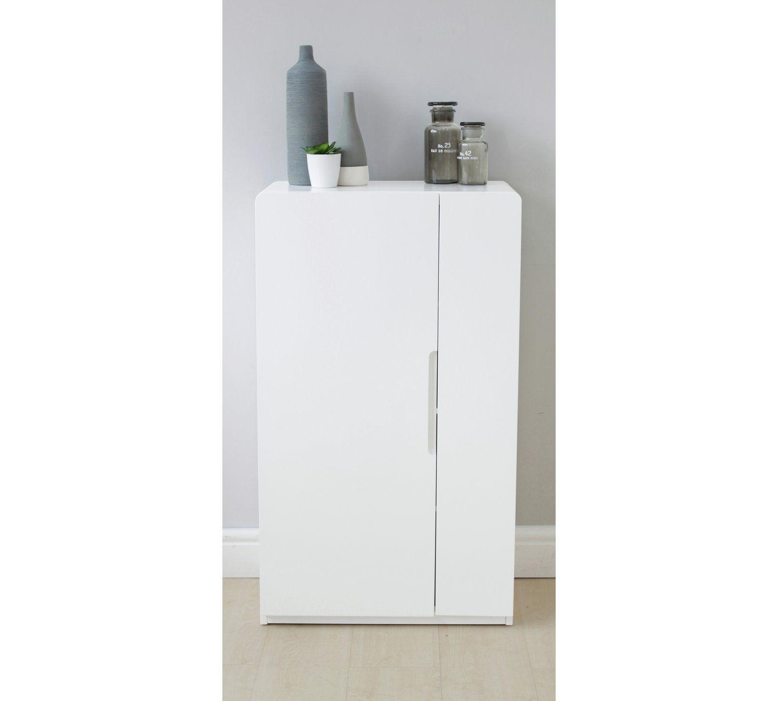 shades bathroom furniture uk%0A Buy Hygena Curve Console Unit  White at Argos co uk  visit Argos
