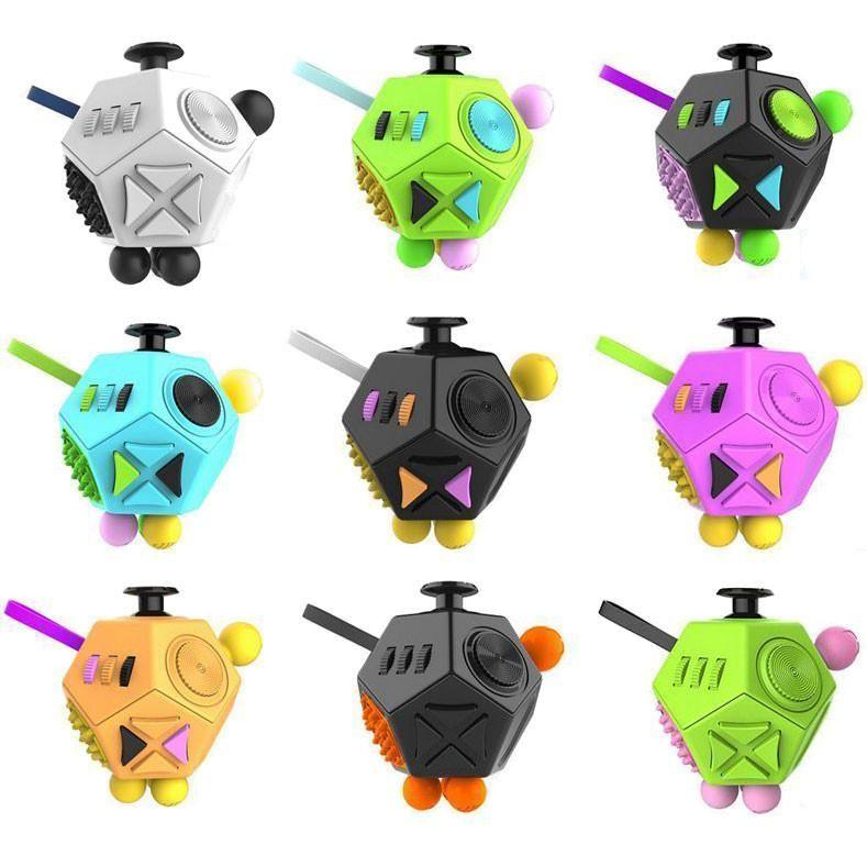 Mega Fidget Block 12 Sided Toy Fidget Cube Fidget Toys Toys