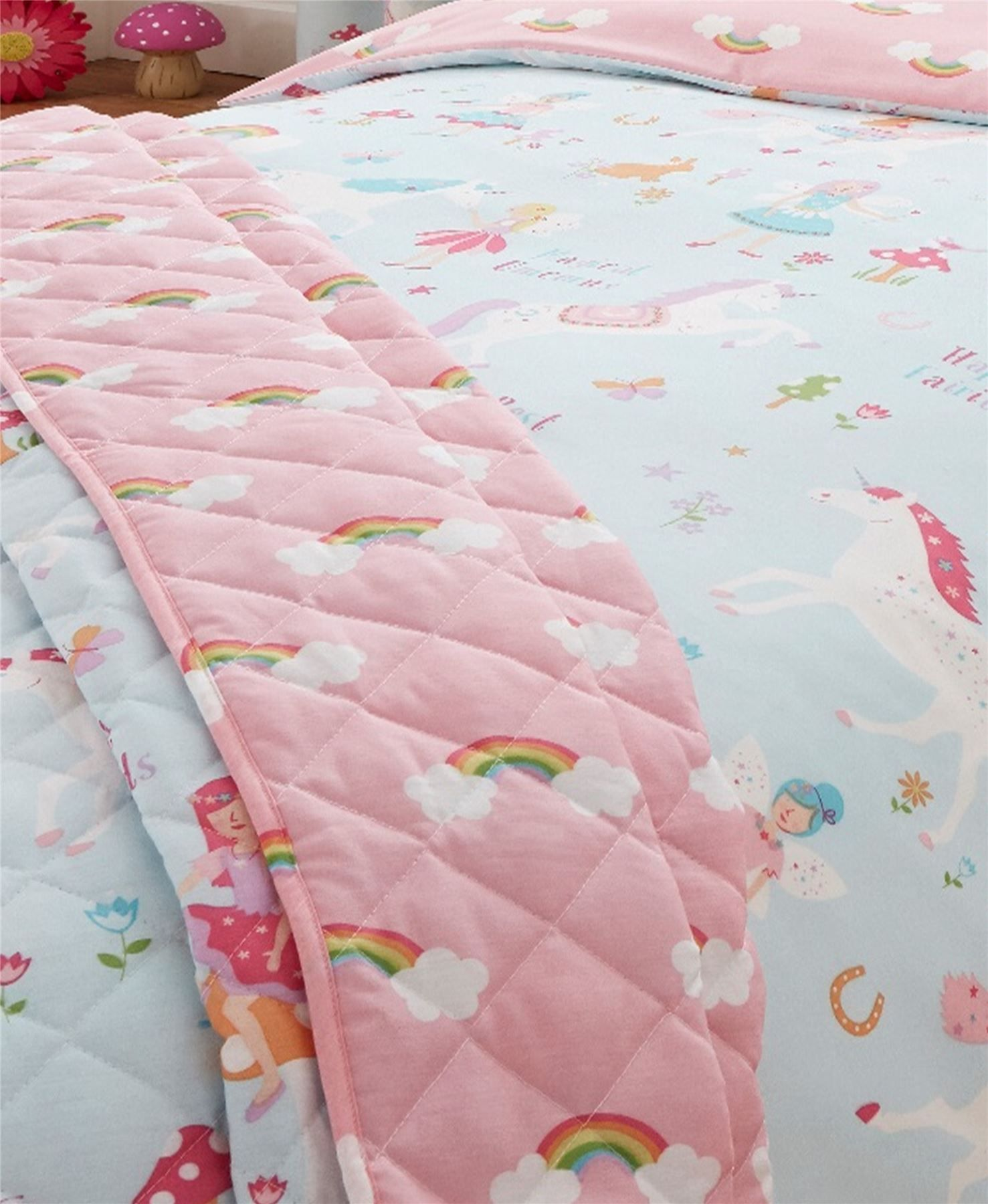 Details about Childrens Quilt Duvet Cover & Pillowcase ...