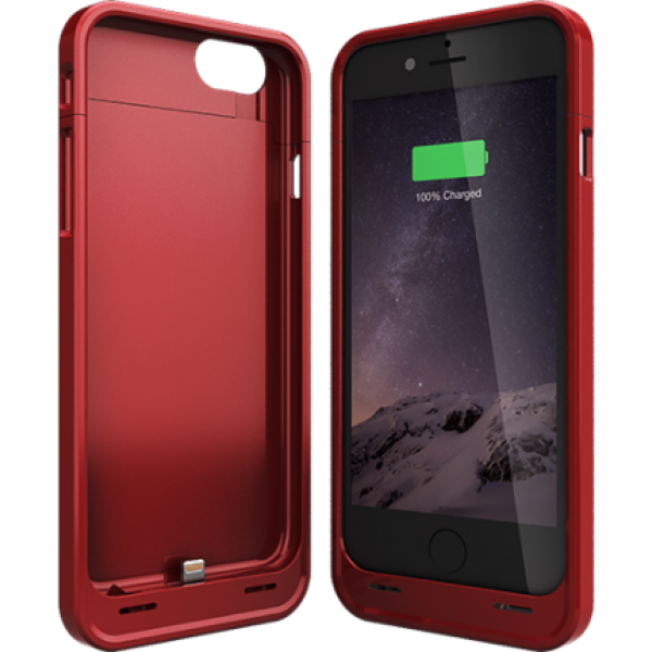 new concept 3789e bb0d9 UNU DX-6 iPhone 6 Battery Case (3000mAh) - Red | iPhone casings ...