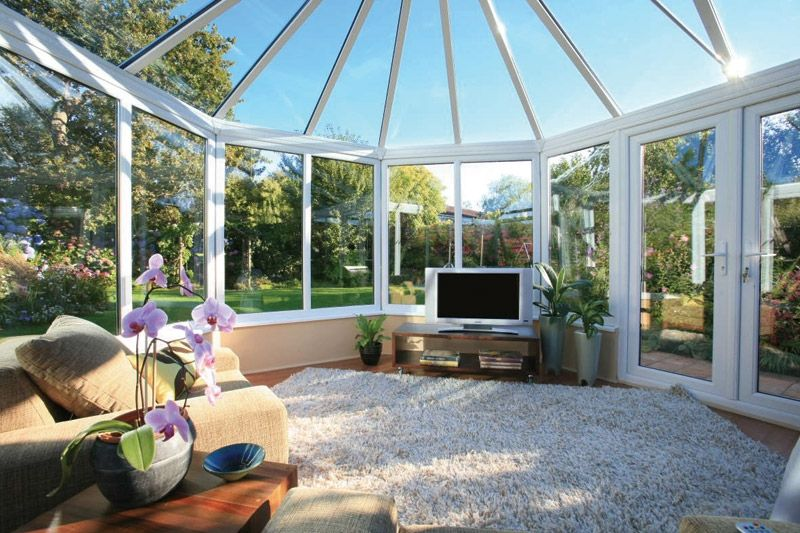 Beautiful family #conservatory! Giving you extra living space for your home. Home Improvement #homeimprovement