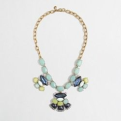 JCrew Factory clusters necklace