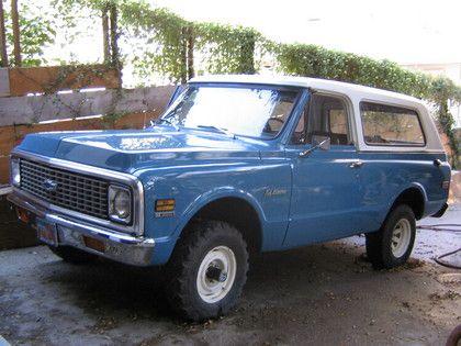 1972 Chevy Blazer Chevy Vehicles Chevy Chevy Trucks