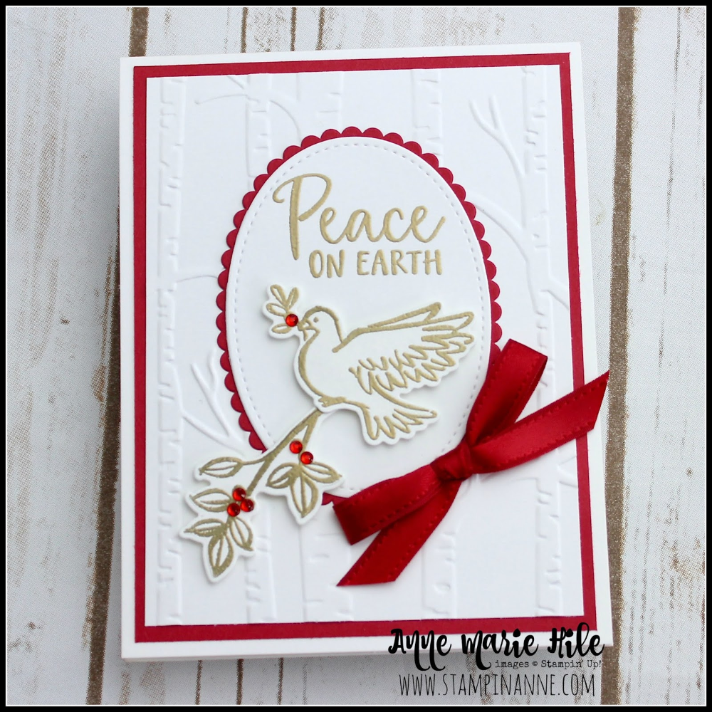 stampin up dove of hope card ideas Google Search in 2020