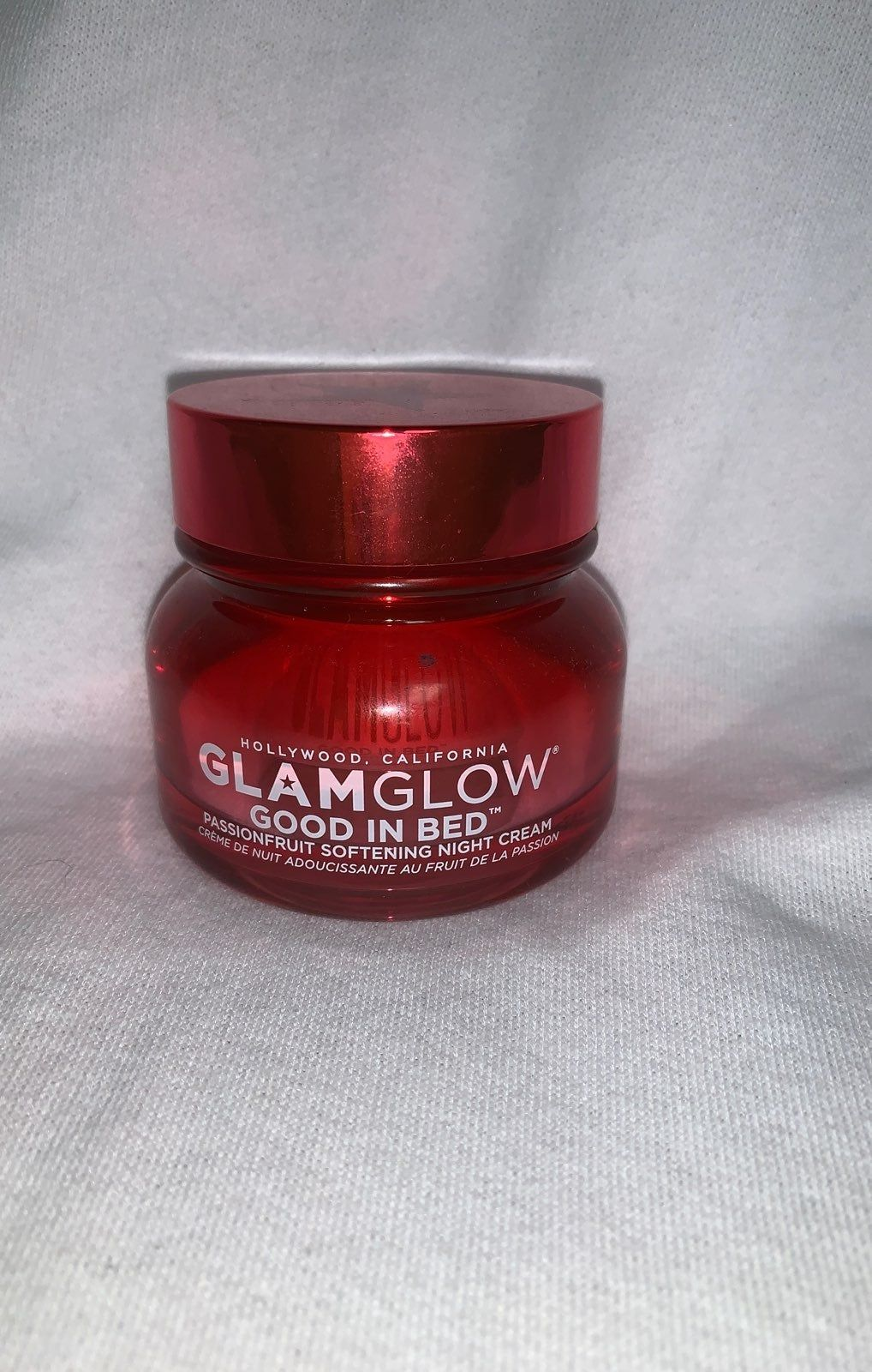 Glamglow Good in Bed Passion fruit softening night cream