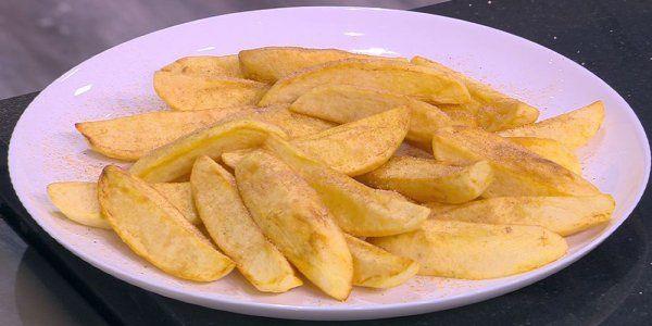 Cbc Sofra طريقة عمل بطاطس مقرمشة بالبهارات غادة التلي Recipe Snacks Snack Recipes Food