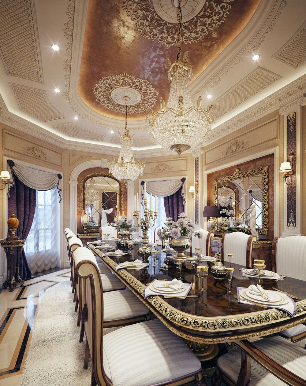 Luxury mansion interior qatar pinterest mansion for Luxury mansion designs