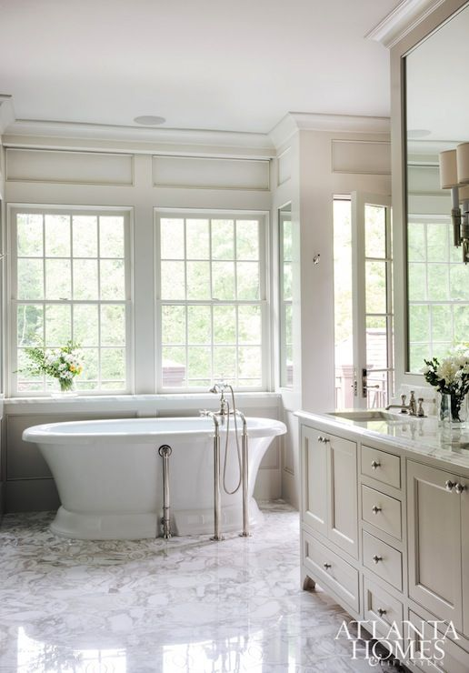 Pin By Kim Wiederholt On Master Bed Bath Dream Bathrooms Home White Bathroom