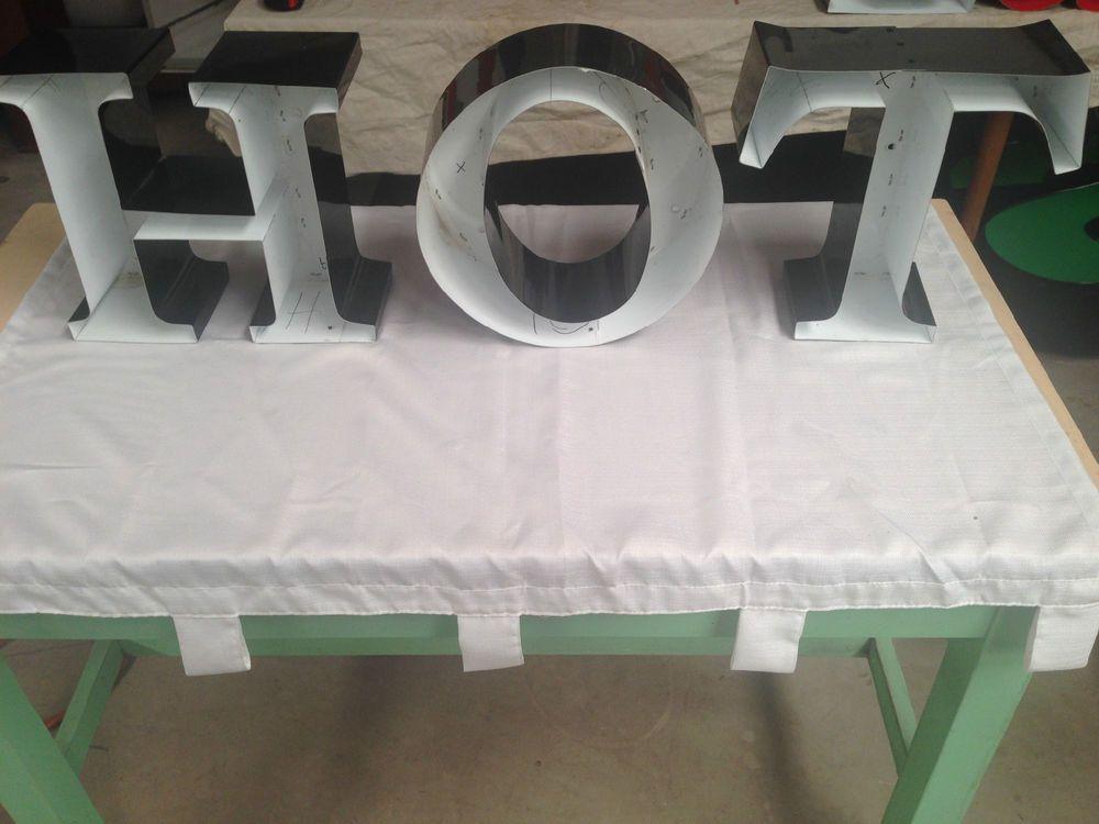 """Decorative Aluminum Letters Metal Channel Letters """"hot"""" #aluminum #metal #diy #decorative"""