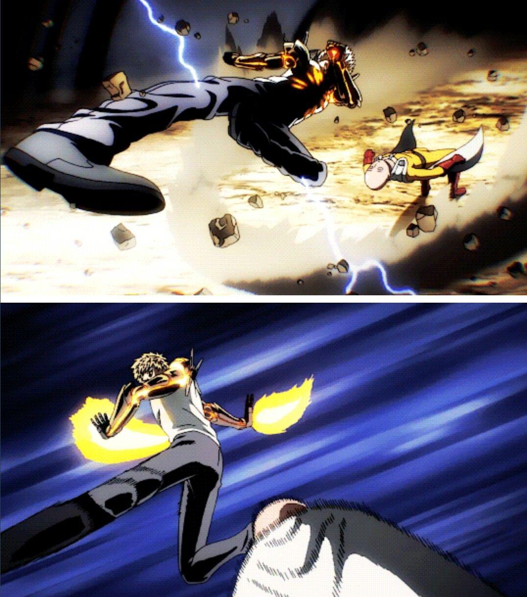 Genos vs. Saitama