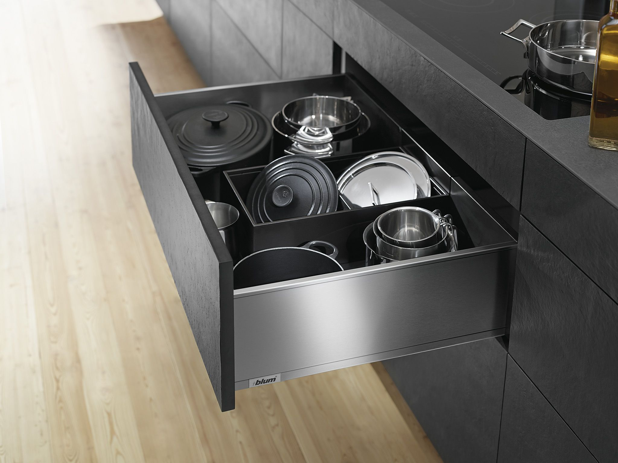 legrabox pure in the kitchen blum pinterest kitchens and house