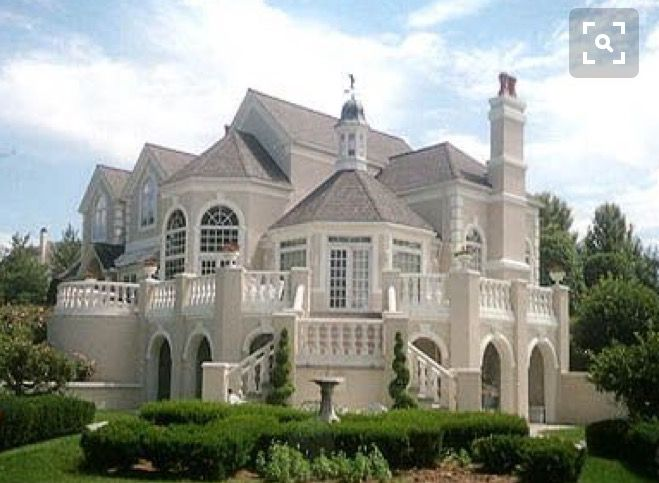 Love And Elegant Mansions Dream House House Exterior