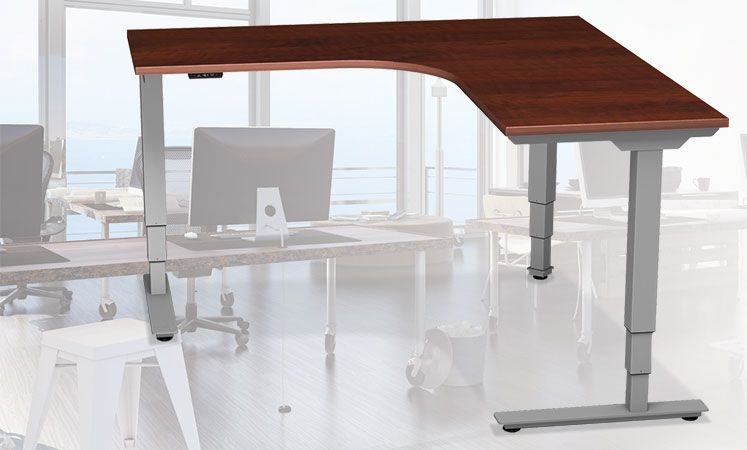 L Shaped Adjustable Height Table Best Standing Desk Adjustable Height Table Standing Desk Office