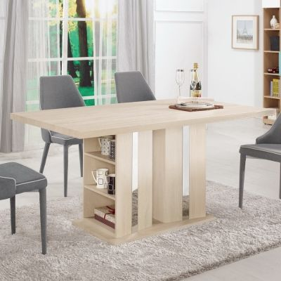 Bernice-安德斯5尺多功能收納餐桌150x9