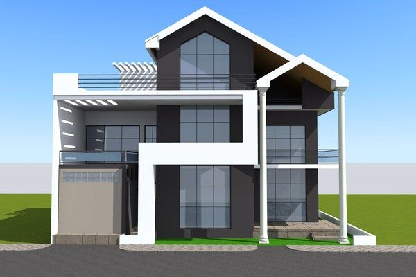 Projet De Construction D Une Villa A Lome Au Togo Architecture