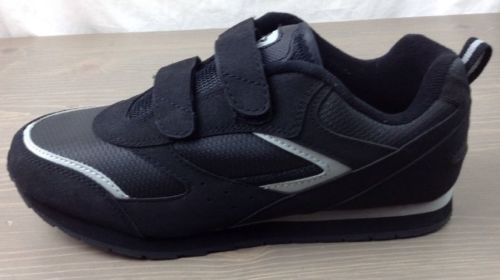 c6d6a7a73c2b32 Starter Shoes 9.5W Mens Silver Series Wide Width Ortho Athletic Sneakers  Blk New