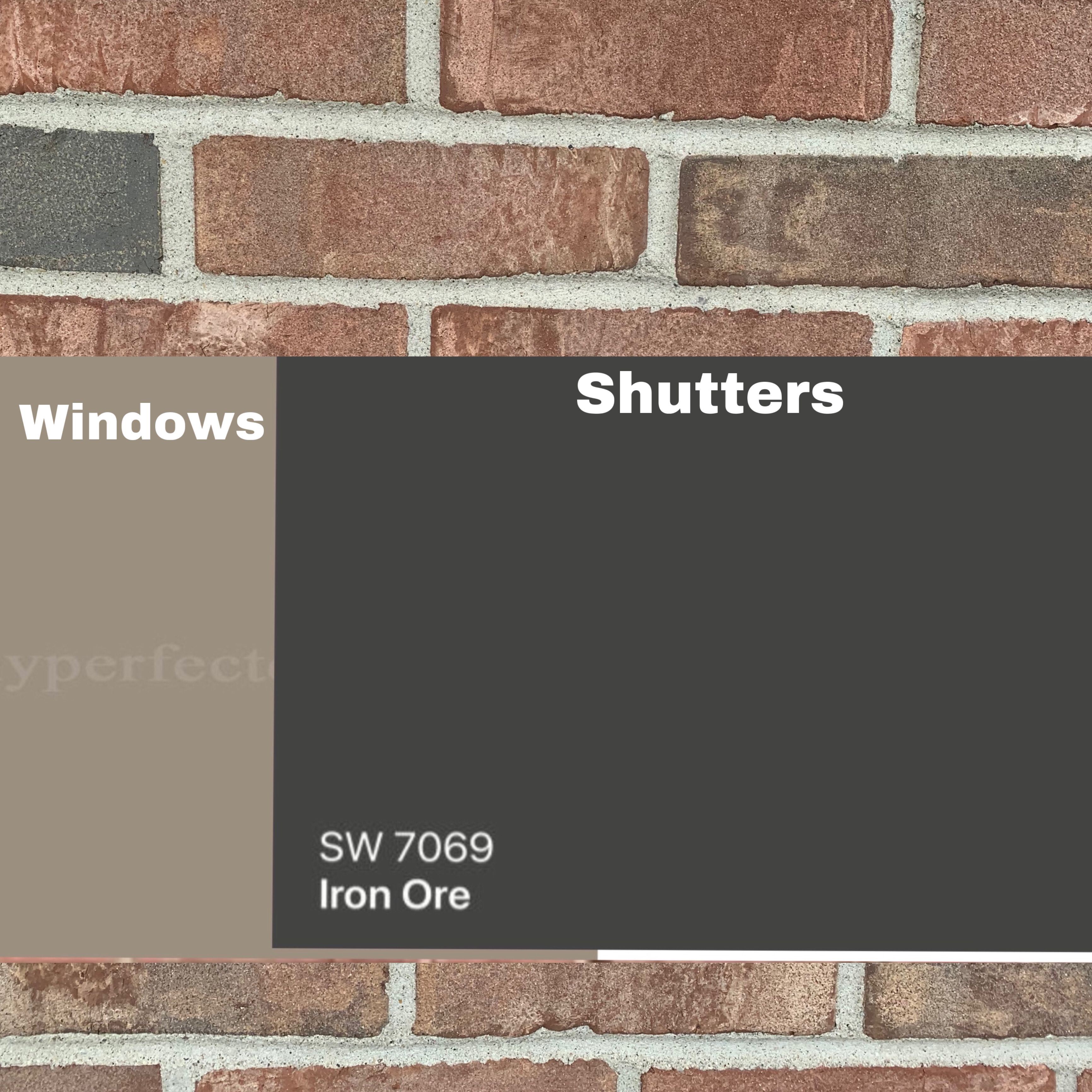 Paint Chips In 2020 Red Brick House Exterior Brick Exterior House Red Brick House