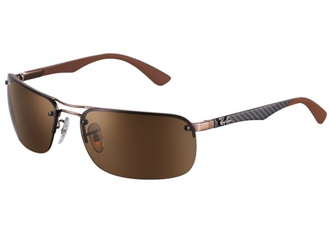 d06b5121d575f Lunettes Ray-Ban - Modèle   RB-8310-014 73 Fashion And Cheap Ray Ban  Sunglasses Brown Frame Is Loved By More And More People!