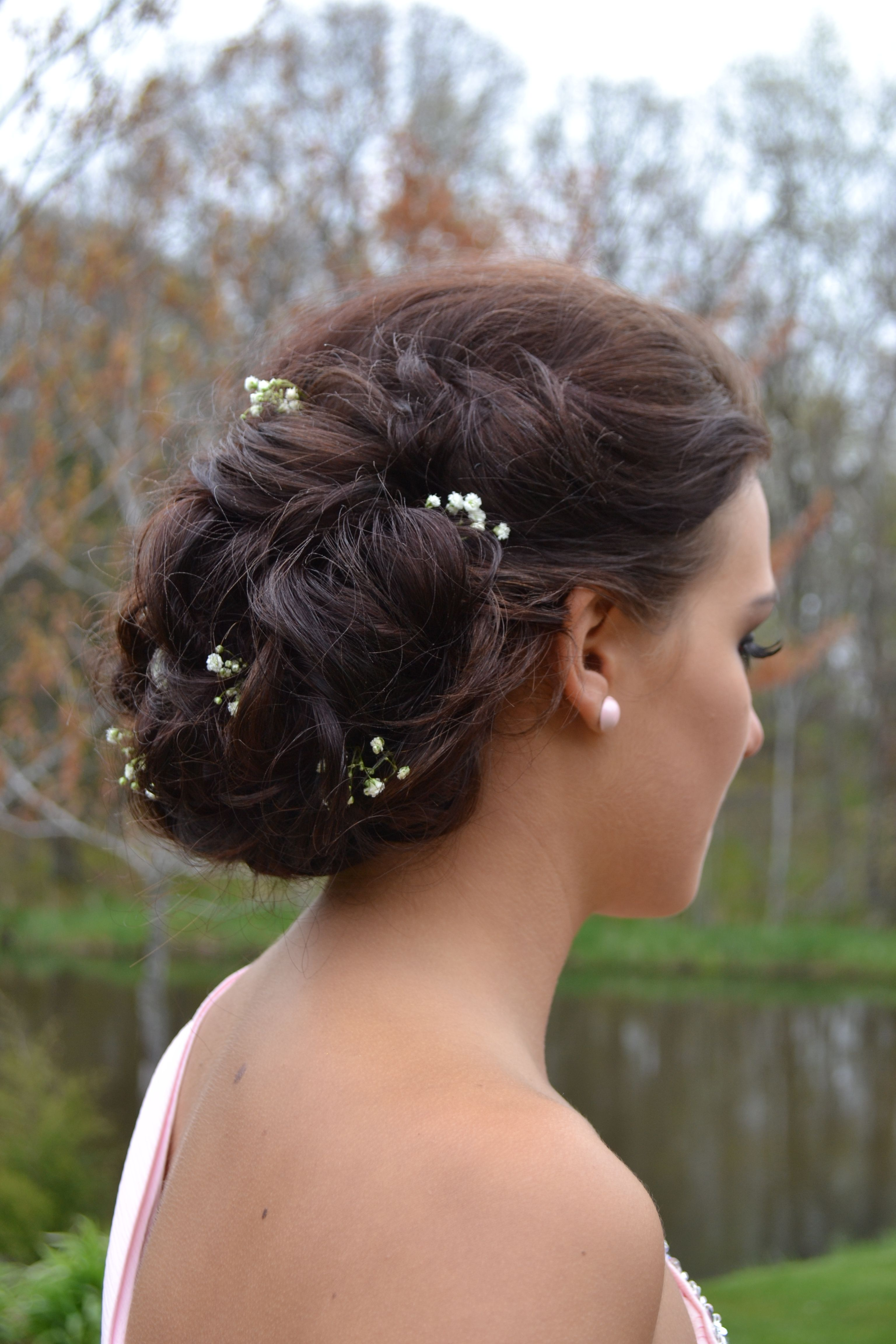 Josie prom updo prom dresses dayslook promperfect