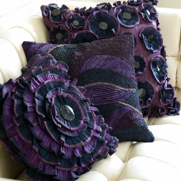 20 creative decorative pillows craft ideas playing with texture and color