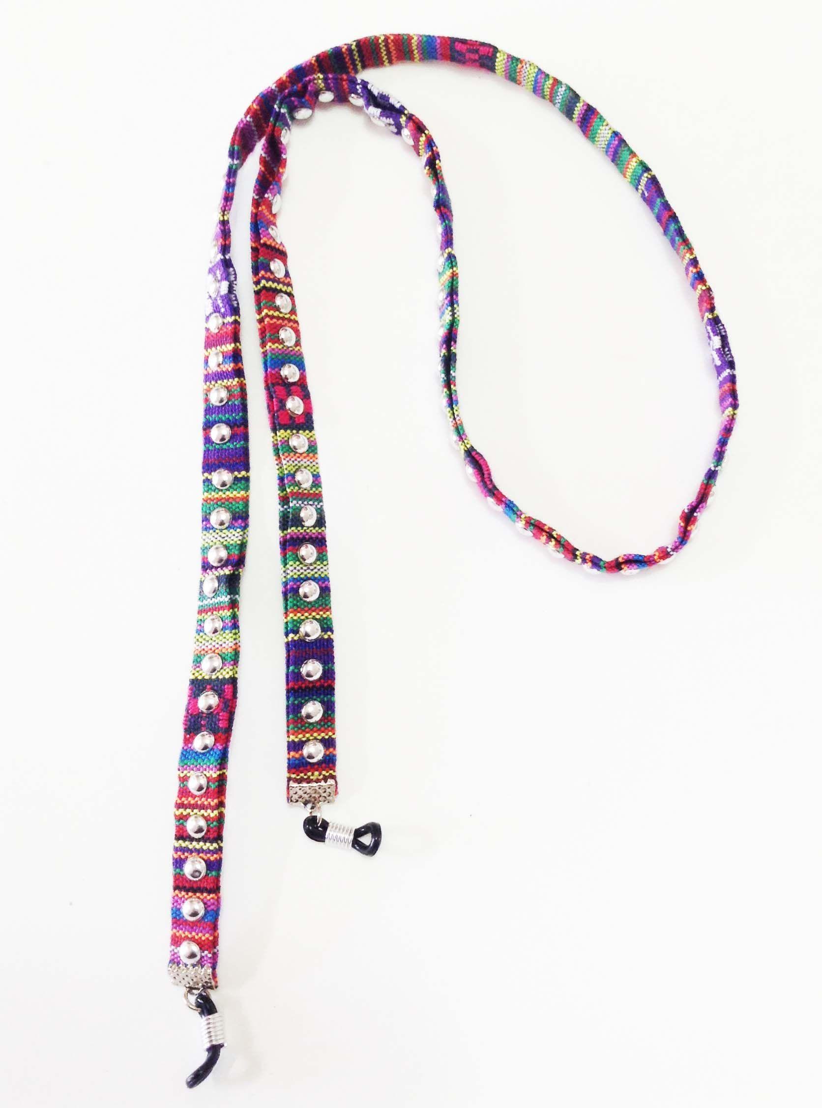 35a1fb347 Cordinha salva - óculos mex - estampa mexicana colorida ...