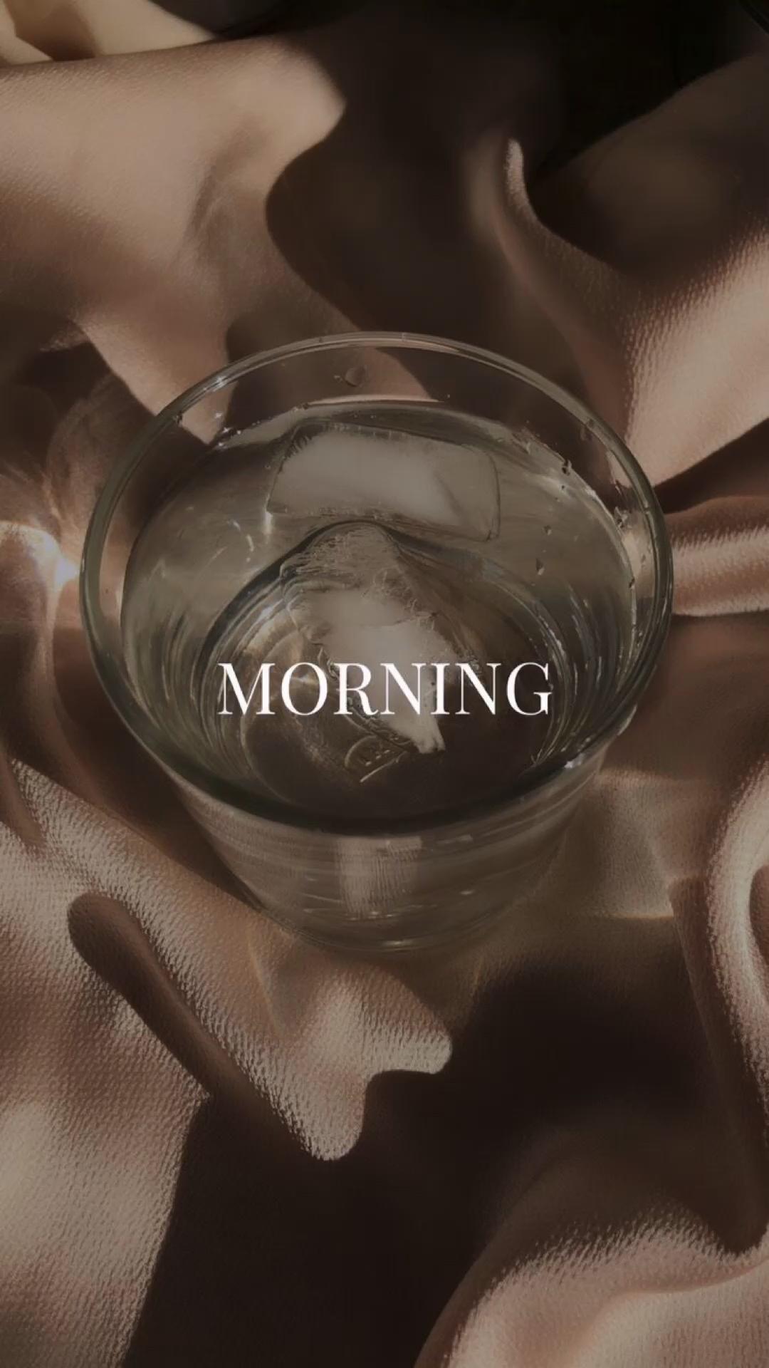 Morning routine☺️💚💕