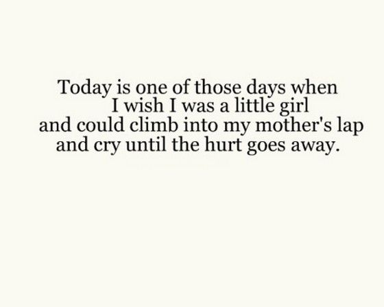 Today Is One Of Those Days When I Wish I Was A Little Girl