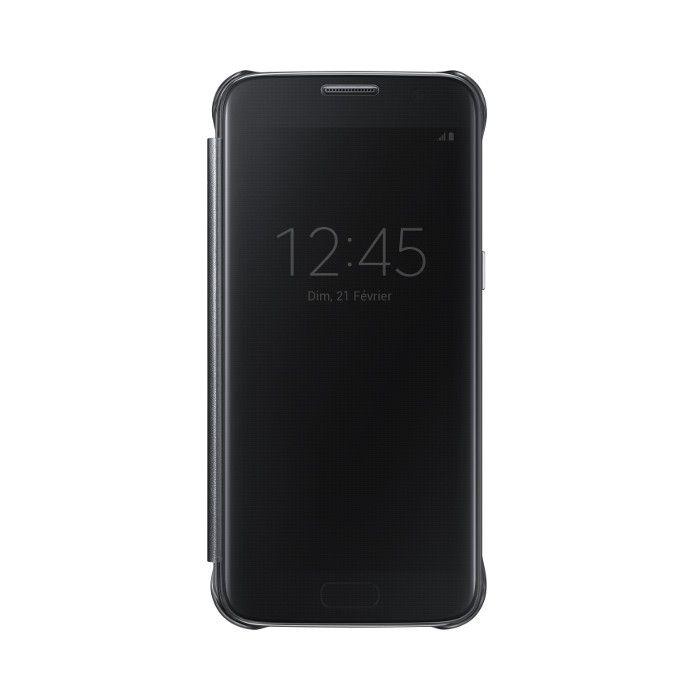 Apercu Image 1 Samsung Etui folio Clear view pour Galaxy S7 Noir ... 0b20c9f0cfde