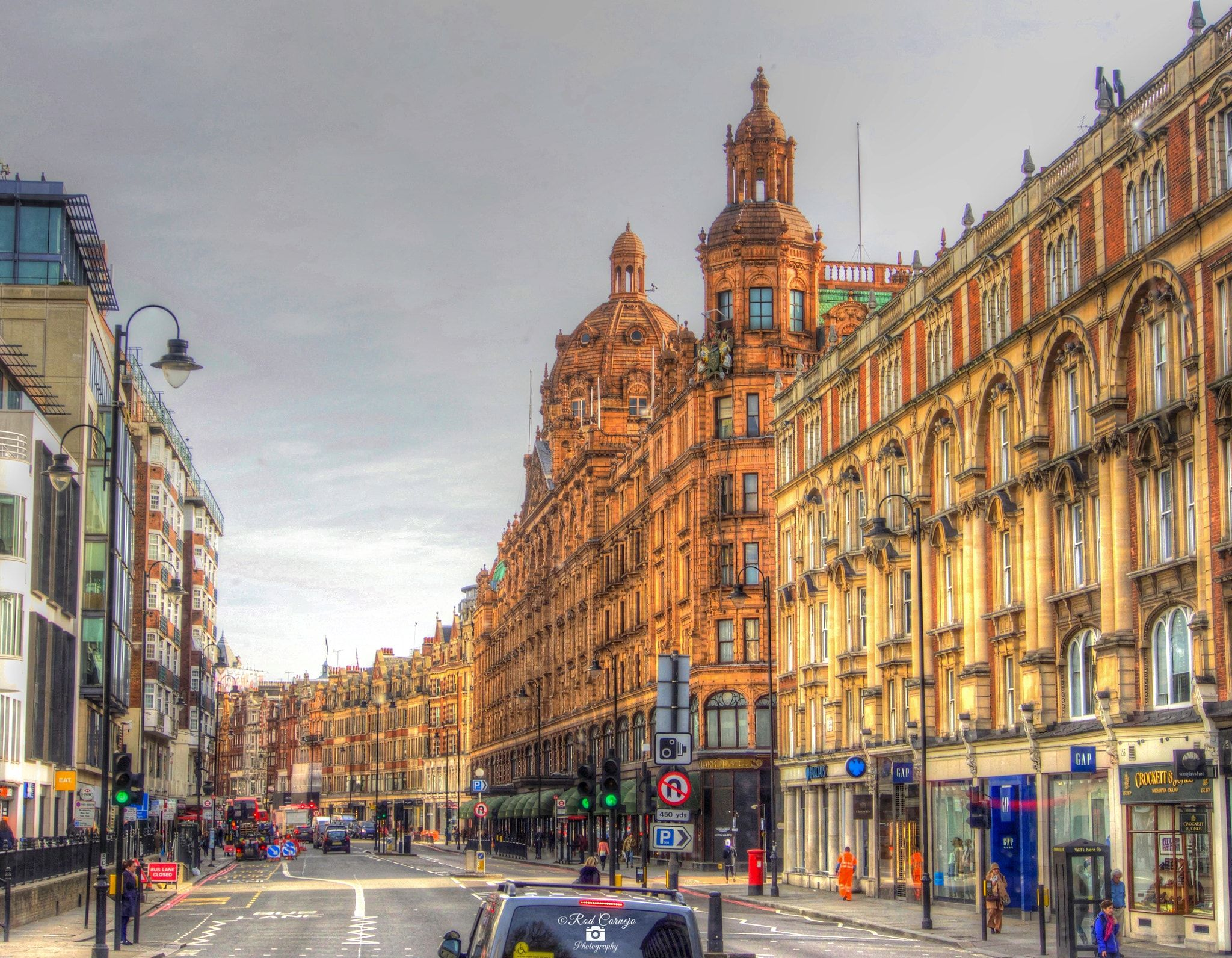Victorian Facades, London... - Victorian facades in London, UK.