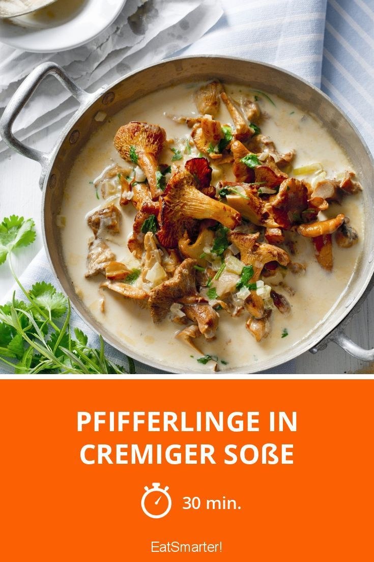 Pfifferlinge in cremiger Sauce